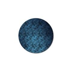 Blue Texture Golf Ball Marker (10 Pack) by AnjaniArt