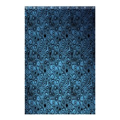 Blue Texture Shower Curtain 48  X 72  (small)