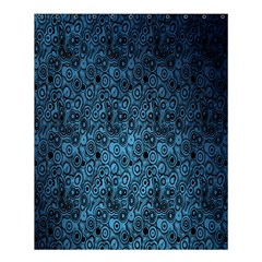 Blue Texture Shower Curtain 60  X 72  (medium)  by AnjaniArt
