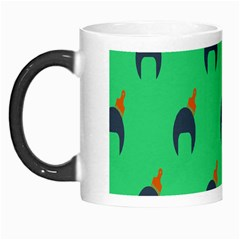 Comb Disco Green Morph Mugs