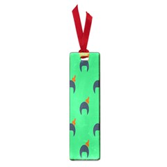 Comb Disco Green Small Book Marks by AnjaniArt