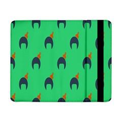 Comb Disco Green Samsung Galaxy Tab Pro 8 4  Flip Case by AnjaniArt