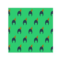Comb Disco Green Small Satin Scarf (square) by AnjaniArt