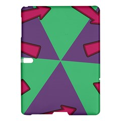 Daily Spinner Signpost Samsung Galaxy Tab S (10 5 ) Hardshell Case  by AnjaniArt