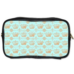 Crown King Paris Toiletries Bags 2 Side by AnjaniArt