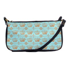 Crown King Paris Shoulder Clutch Bags by AnjaniArt