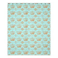 Crown King Paris Shower Curtain 60  X 72  (medium)  by AnjaniArt