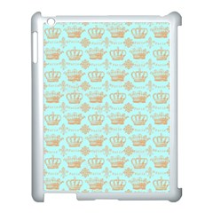 Crown King Paris Apple Ipad 3/4 Case (white) by AnjaniArt