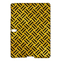 Woven2 Black Marble & Yellow Marble (r) Samsung Galaxy Tab S (10 5 ) Hardshell Case  by trendistuff