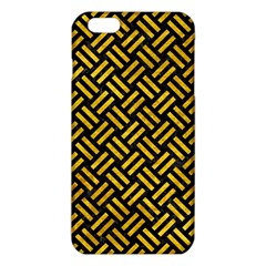 Woven2 Black Marble & Yellow Marble Iphone 6 Plus/6s Plus Tpu Case by trendistuff
