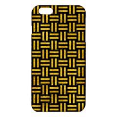 WOV1 BK-YL MARBLE iPhone 6 Plus/6S Plus TPU Case by trendistuff