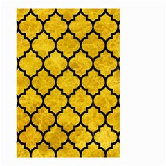 Tile1 Black Marble & Yellow Marble (r) Small Garden Flag (two Sides) by trendistuff