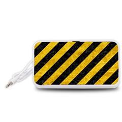 STR3 BK-YL MARBLE Portable Speaker (White) by trendistuff