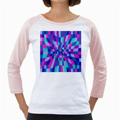 Flag Color Girly Raglans