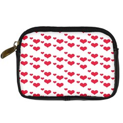 Heart Love Pink Valentine Day Digital Camera Cases by AnjaniArt