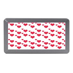 Heart Love Pink Valentine Day Memory Card Reader (mini) by AnjaniArt