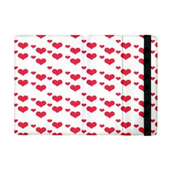 Heart Love Pink Valentine Day Apple Ipad Mini Flip Case by AnjaniArt