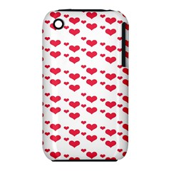 Heart Love Pink Valentine Day Iphone 3s/3gs by AnjaniArt