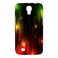 Fractal Manipulations Raw Flower Colored Samsung Galaxy Mega 6 3  I9200 Hardshell Case by AnjaniArt