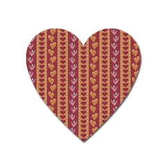 Heart Love Valentine Day Heart Magnet by AnjaniArt
