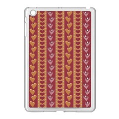 Heart Love Valentine Day Apple Ipad Mini Case (white) by AnjaniArt