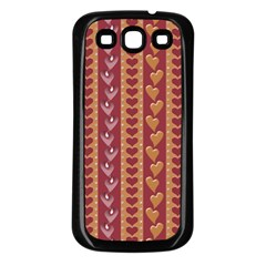 Heart Love Valentine Day Samsung Galaxy S3 Back Case (black) by AnjaniArt