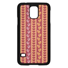 Heart Love Valentine Day Samsung Galaxy S5 Case (Black) by AnjaniArt