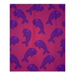 Fluffy Stuffie Animals Purple Pink Shower Curtain 60  X 72  (medium)  by AnjaniArt