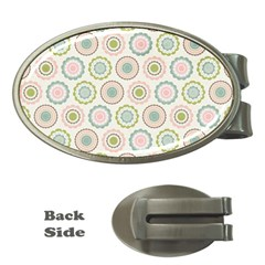Motieven On Pinterest Laminas Para Decoupage Wallpapers Scrapbooking Flower Money Clips (oval)  by AnjaniArt