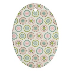 Motieven On Pinterest Laminas Para Decoupage Wallpapers Scrapbooking Flower Oval Ornament (two Sides) by AnjaniArt