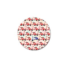 Motorcycle Golf Ball Marker (10 Pack) by AnjaniArt