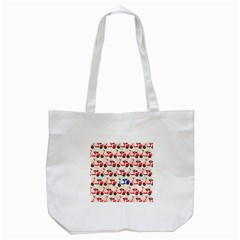 Motorcycle Tote Bag (white)