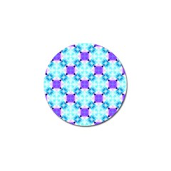 Background Colour Flower Rainbow Golf Ball Marker (10 Pack) by AnjaniArt