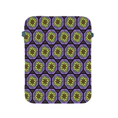 Background Colour Star Flower Purple Yellow Apple Ipad 2/3/4 Protective Soft Cases by AnjaniArt
