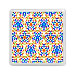 Background Colour Circle Rainbow Memory Card Reader (square)  by AnjaniArt