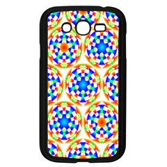 Background Colour Circle Rainbow Samsung Galaxy Grand Duos I9082 Case (black) by AnjaniArt