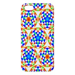 Background Colour Circle Rainbow Iphone 5s/ Se Premium Hardshell Case by AnjaniArt