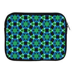 Background Star Colour Green Blue Apple Ipad 2/3/4 Zipper Cases by AnjaniArt