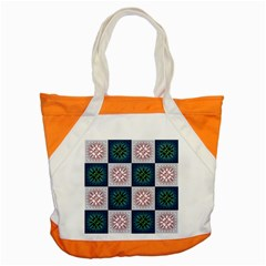 Background Colour Flower Box Accent Tote Bag by AnjaniArt