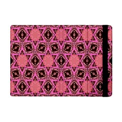 Background Colour Star Pink Flower Ipad Mini 2 Flip Cases by AnjaniArt