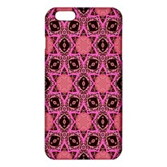 Background Colour Star Pink Flower Iphone 6 Plus/6s Plus Tpu Case by AnjaniArt