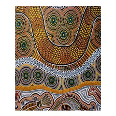 Batik Shower Curtain 60  X 72  (medium)  by AnjaniArt