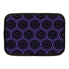 Background Colour Purple Circle Netbook Case (medium)  by AnjaniArt