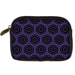 Background Colour Purple Circle Digital Camera Cases by AnjaniArt