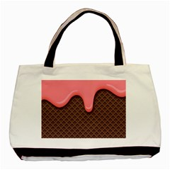 Ice Cream Basic Tote Bag by Brittlevirginclothing