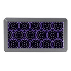 Background Colour Purple Circle Memory Card Reader (mini) by AnjaniArt