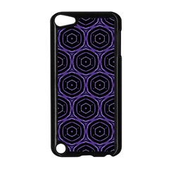 Background Colour Purple Circle Apple Ipod Touch 5 Case (black) by AnjaniArt