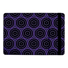 Background Colour Purple Circle Samsung Galaxy Tab Pro 10 1  Flip Case by AnjaniArt