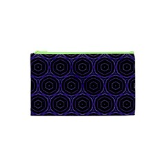 Background Colour Purple Circle Cosmetic Bag (xs) by AnjaniArt