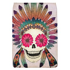Tribal Hipster Colorful Skull Flap Covers (s)  by Brittlevirginclothing